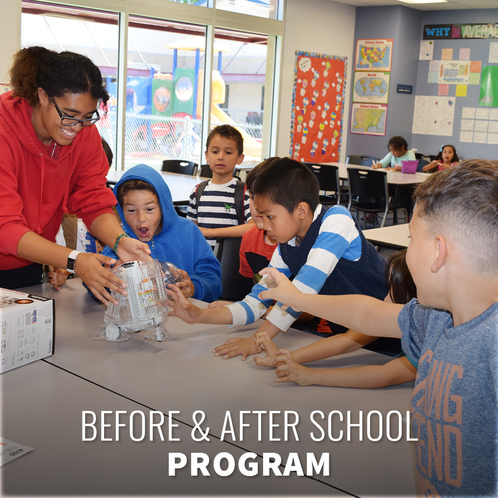 Register online for before and after school programs at the Boys & Girls Club!