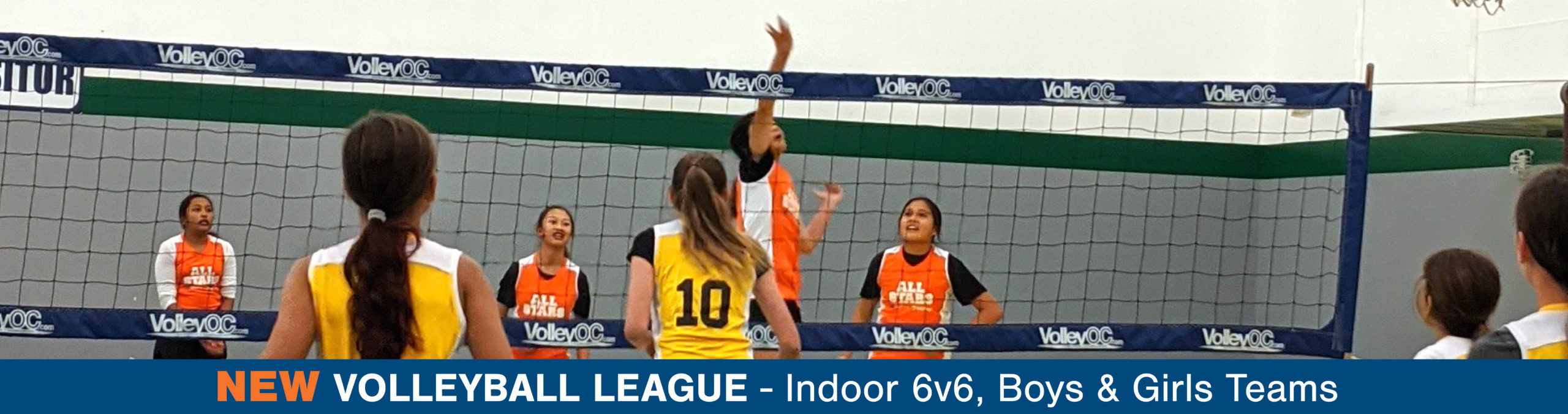 New Volleyball League at BGCHV