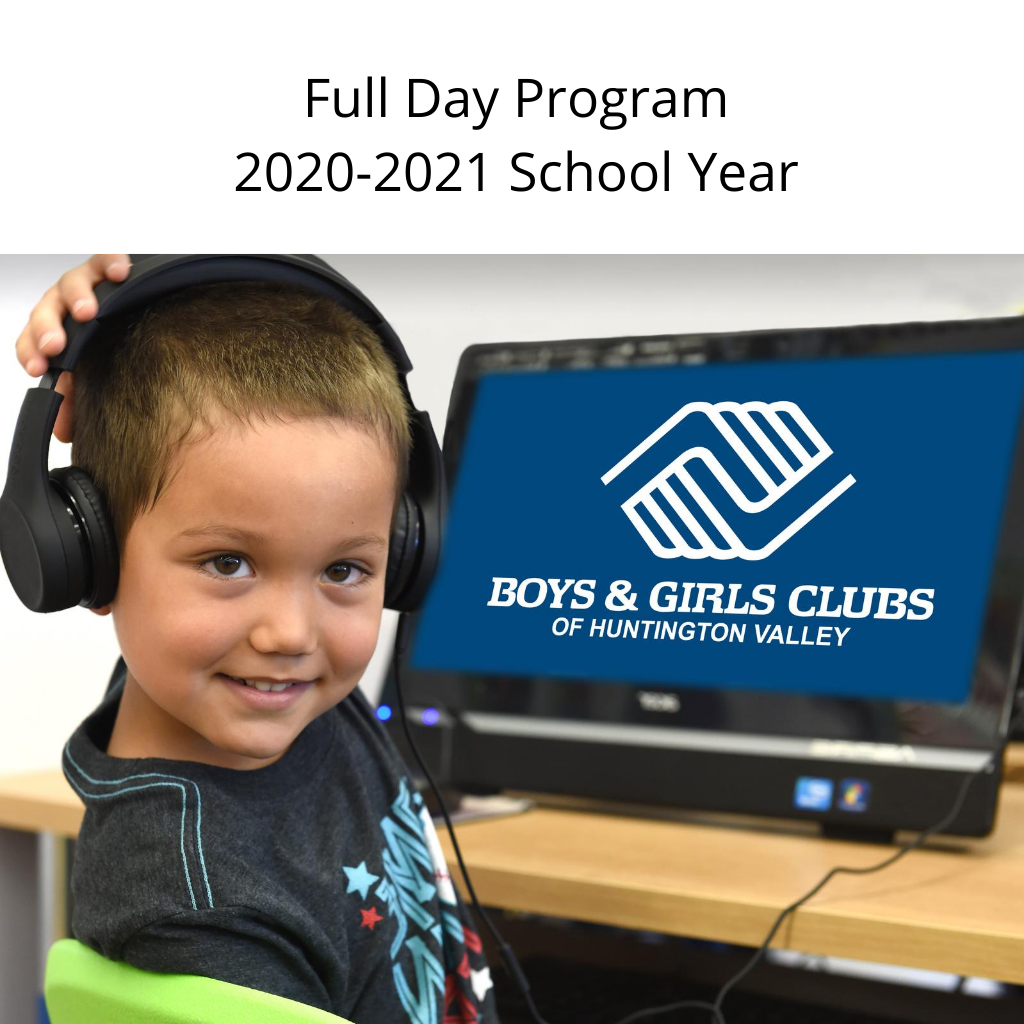 Full Day Program 2020-2021 School Year